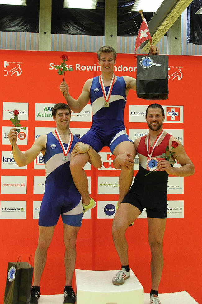Barnabé Delarze - Aviron Suisse, Vice-champion du monde et champion de Suisse 2018